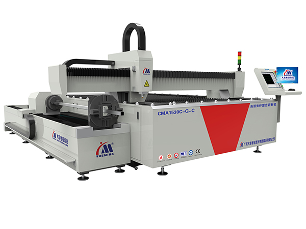 Fiber Laser Cutting Machine for Tubes and Sheet Metal, CMA1530C-G-C