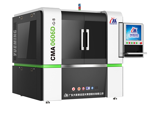 Precision Fiber Laser Cutting Machine, CMA0606D-G-B